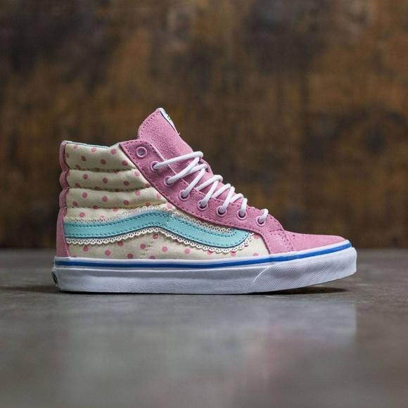 VANS x TOY STORY SK8-HI SLIM BO PEEP Pink Sneakers ea9ce985f